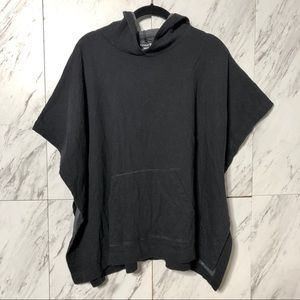 Forever 21 Lounge Sweatshirt Poncho Hoodie OD
